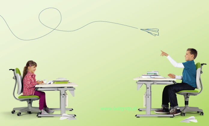 biurko regulowane paidi marco 2 gt 130 cm laminat. Black Bedroom Furniture Sets. Home Design Ideas