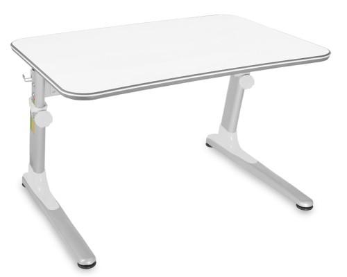 Biurko Regulowane Junior Biały Biały 90 X 63 Cm Mayer Biurka